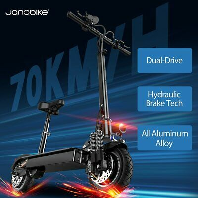 Janobike Hydraulic brake scooter electric 70km/h electric scooter Dual motor