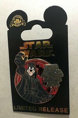 Disney Pin Star Wars Revenge of the 5th 2015 Goofy Darth Vader Limited Release