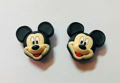 Mickey Mouse 3D PVC Shoe Charm Set fit in your Crocs/Jibbitz