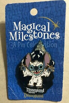 Disney Pin DLR Magical Milestones Stitch Matterhorn Limited Edition 2000