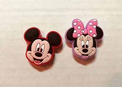 Mickey & Minnie Mouse 3D PVC Shoe Charm Set fit in your Crocs/Jibbitz