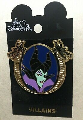 Disney Pin DLR Villain Series Sleeping Beauty Maleficent Retired