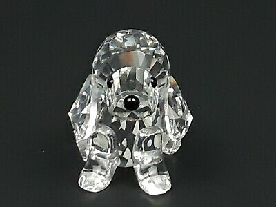 Swarovski Crystal Puppy Dog