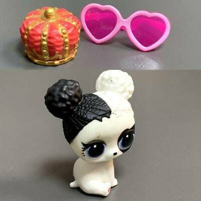 LOL Surprise Doll Lil Heart Barker Puppy Heartbreaker Dog Doggy Crown Toys Rare