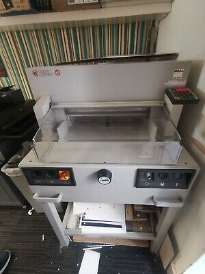 Ideal 4850-95EP Guillotine, Good Working Order VAT INCLUDED