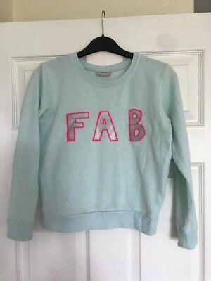 Girls Matalan Sweatshirt Mint (FAB) Aged 10