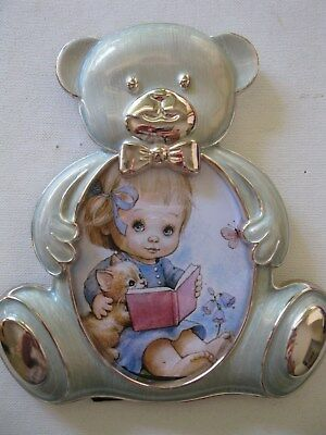 Teddy Bear Photo Frame - Free Standing - Very Good Condition