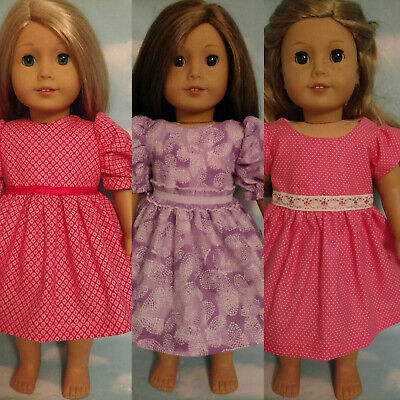 """18"""" Doll Dress fits18 inch American Girl Doll Clothes 52abc"""