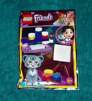 Lego Friends Kitty Chico At The Vets Mini Figure Polybag