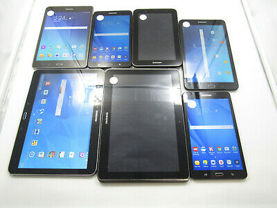 Lot of 7 Assorted Samsung Galaxy Tablets -BT4331