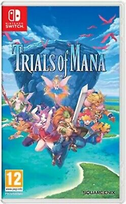 Trials Of Mana Nintendo Switch - New and Sealed