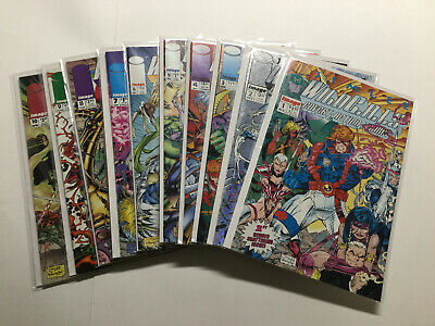 Wild C.A.T.S 1-19 Lot Run Set Very Fine-Near Mint Vf-Nm Image