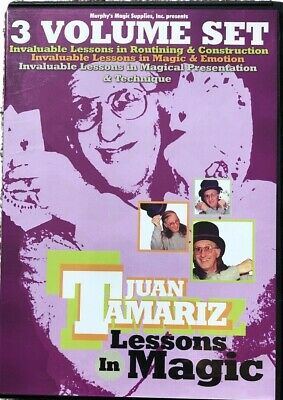 Juan Tamaraz Lessons In Magic