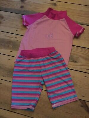 Summer Swinwear Set Uv Coverage Little Girls Aged 3/4 Years
