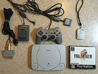 Ps One + Final Fantasy 8 + Pocketstation Playstation Sony VIII Black Label Pal