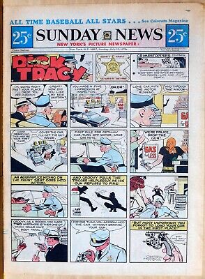 New York Sunday News - color Sunday comic section - Friday Foster, July 12, 1970