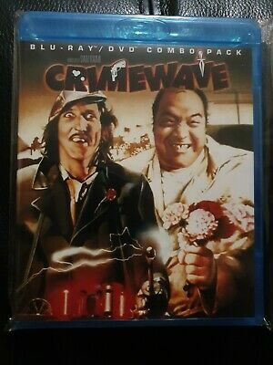 Crimewave Blu Ray/Dvd Combo Shout Factory Oop