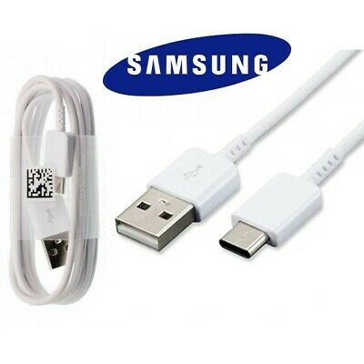 Genuine Samsung Galaxy S8 S9 S10 Plus Type C USB-C Sync Charger Charging Cable