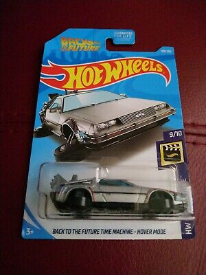 Hot Wheels 2017 *Back To The Future* *Delorean Time Machine Hover Mode* (Vhtf)