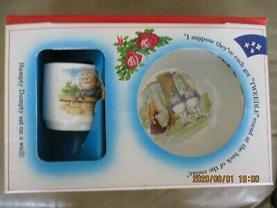 Johnson Brothers Nursery Set Cup and Bowl Plate
