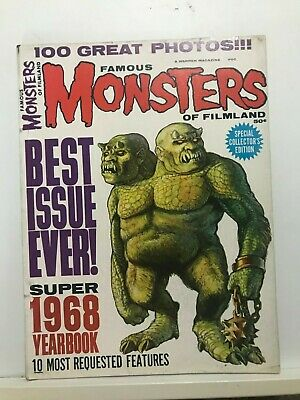 Rare  Famous Monsters of Filmland 1968 Yearbook