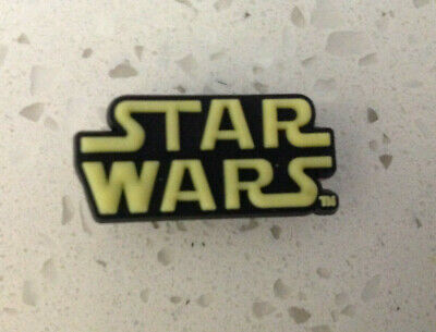 Star Wars Logo Charm for Crocs Shoes Jibbitz Wristband