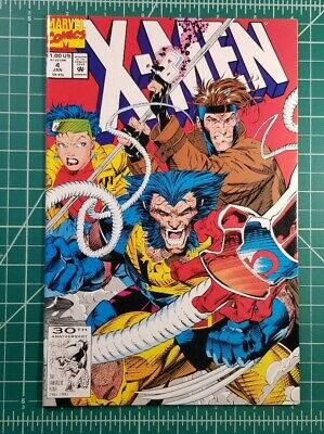 X-Men #4 (1992) Marvel Comics 1st App Omega Red Jim Lee NM High Grade Key