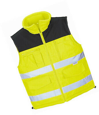 Terratrend Job 0344A-2XL-9000 Work Vest Size 2XL in Yellow, 2X-Large