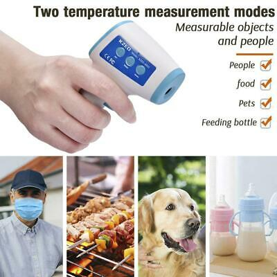 IR Infrared Digital LCD Thermometer Forehead No-contact Touch Ear Babies Adult