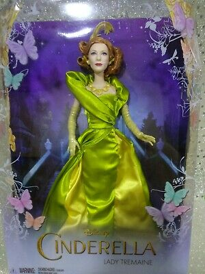 Barbie Disney collector Cate Blanchett Cinderella real action movie Royal gown