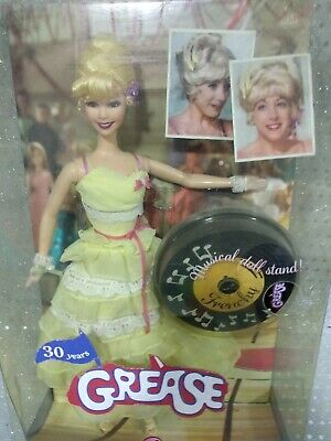 Barbie collector Grease Frenchy Ball Dance off NRFB damaged box
