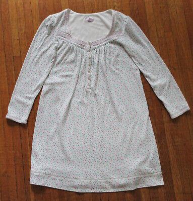 Aria womens sweetheart long sleeve nightgown (new without tags)