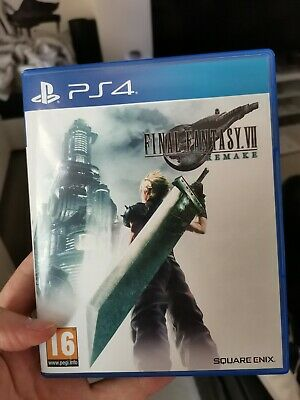 Final Fantasy VII Remake PS4 Game RPG - Good condition