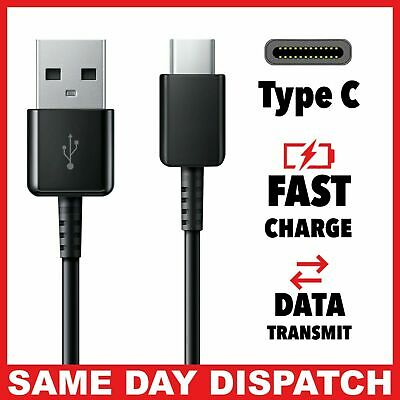 Fast Samsung Galaxy S10 S9 S8 Plus Type C USB-C Data Charger Charging Cable lead