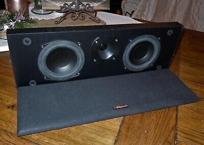 Klipsch KV-1 Compact 2-Way Center Channel Home Theater Stereo Speaker Black