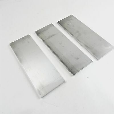 ".375"" thick  3/8  Aluminum 6061 PLATE  4.875"" x 12"" Long QTY 3  sku 175808"