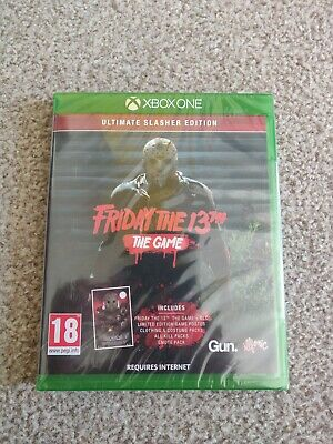 Friday The 13th The Game Ultimate Slasher Edition - Xbox One *New & Sealed*