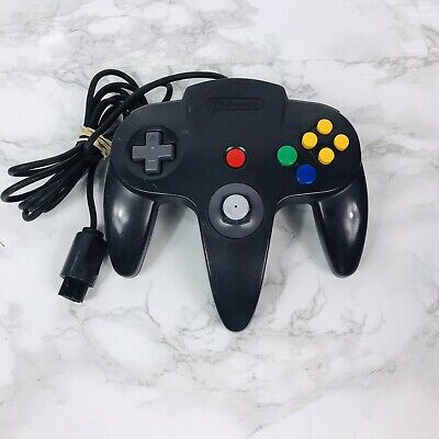 Nintendo 64 N64 Controller Charcoal Black/Grey AUTHENTIC | OFFICIAL | TESTED
