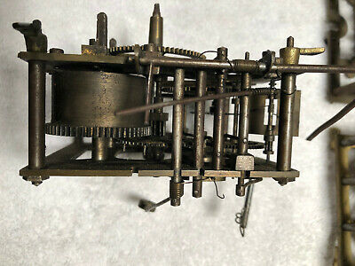 Black Forest Vintage Cuckoo Clock Movements 3 And One Spring Driven