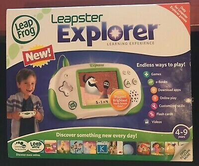 Leapster Explorer system - complete in box