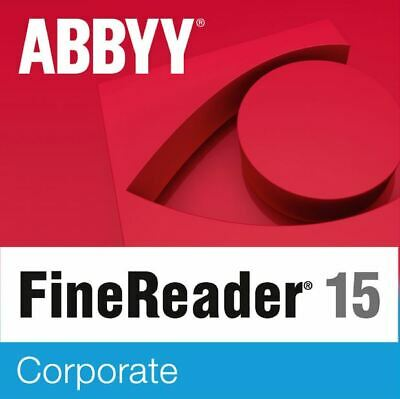 🔥 ABBYY FineReader Corporate 15 🔥 Full Version ✅ Fast Delivery ✅