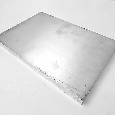 ".875"" thick 6061 Aluminum PLATE  10.75"" x 15"" Long Solid Flat Stock sku137248"