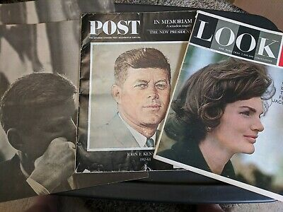 1960's JFK Magazine Collection (includes Bobby & Jackie)