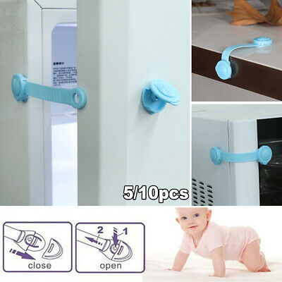 Door Stopper Window Refrigerator Child Cabinet Lock Cupboard Baby Safety Drawer