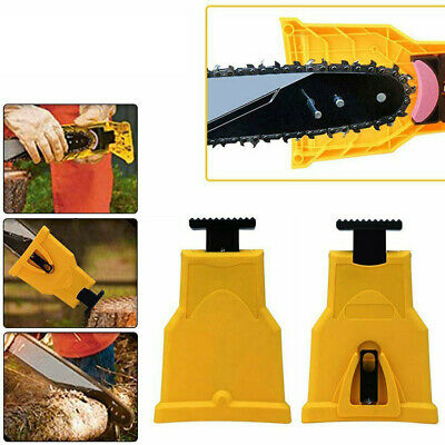 Woodworking Chainsaw Teeth Sharpener Sharpening System Chain Tool Fast Grinding
