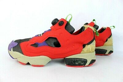 Reebok INSTA PUMP FURY T 41 / US 8.5 / UK 7.5 EXCELENT ETAT COLLECTOR