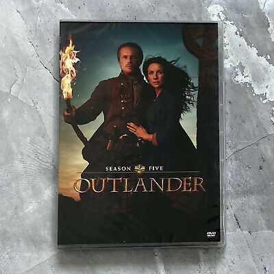 Outlander Season 5 (4-Disc 202 DVD) Fast Shipping new new new ! ! !
