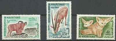 Timbres Animaux Mauritanie 143/4 153 ** (46584C)
