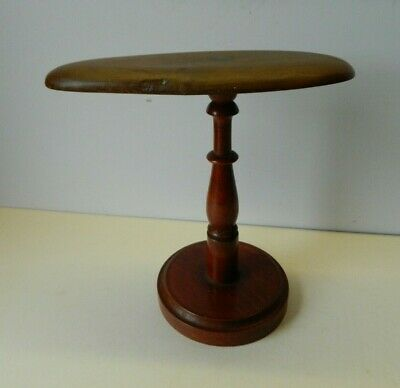 Vintage French Wooden Shop Display Hat Stand