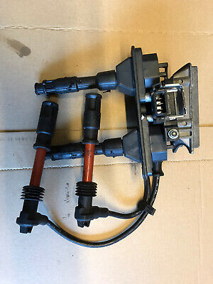 AUDI CABRIOLET B4 1.8 Ignition Coil 97 to 00 ADR Lucas 058905101A 058905105A